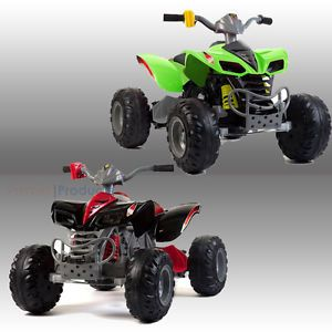Raptor Kids Ride on Quad Bike Electric Childrens 12V ATV Battery Toy Car