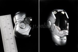 Hot Toys Iron Man Mark II Armor Unleashed Version Figure 1 6 Empty Helmet