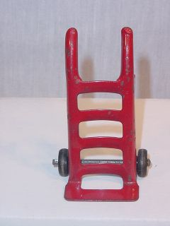 Marx Glendale Railroad Depot 2900 Pressed Steel Hand Truck Accessory