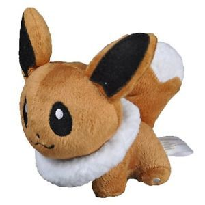 "Cute Pokemon Plush Eevee Doll Around 12cm 5"" Toy for Kids"