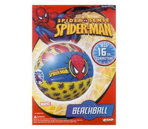 Marvel Spiderman Kids Inflatable Pool Beach Ball Toy 3