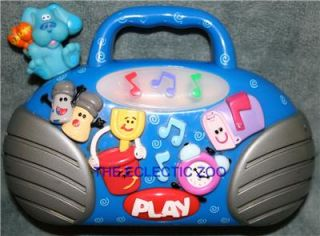 Blue's Clues Radio Boombox Buddy Blues Toy Boom Box
