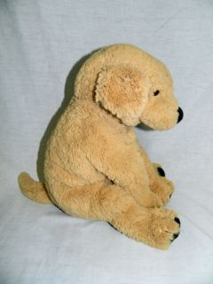 "IKEA 15"" Gosig Golden Retreiver Dog Puppy Floppy Stuffed Lovey Tan Soft"