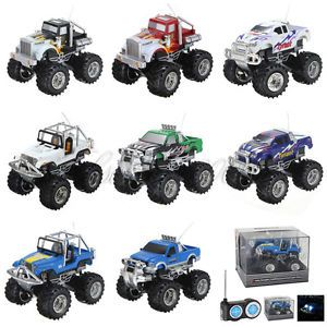 1 43 Mini RC Radio Remote Control Racing Cross Monster Truck Car Toys Kids ZX