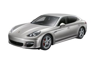 Porsche Panamera Turbo Model Car 1 43 Silver