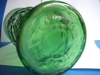 Tall Light Green Depression Glass E O Brody Co Cleveland Vintage Glass Vase