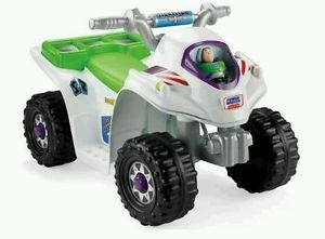 Toy Story 3 Lil' Quad New Power Wheels ATV Kids Motorcycle Car