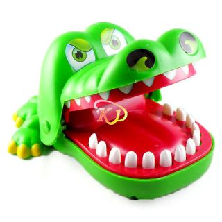 S5H Crocodile Mouth Bite Party Family Finger Game Boy Girl Kids Geek Toy Gift