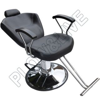 Amazing Black Barber Salon Chair Styling Tattoo Threading Beauty Chair