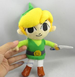 Cute Plush Toy Legend of Zelda Soft Doll Children Kids Link Figure for Nintendo