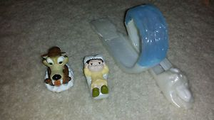 Burger King Ice Age Kids Happy Meal Action Figure Toy Scrat