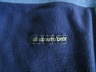 Blue Hug Me Squeaky All About Bear Carters Baby Blanket