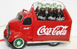 New Kurt Adler Vintage Coca Cola Delivery Truck Christmas Ornament CC0746