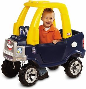 Little Tikes Cozy Roomy Pickup Truck Riding Toy Children Toddlers Kids Vehicle