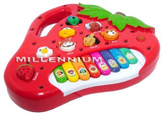 Kids Childrens Piano Keyboard Animal Sound Music Toy