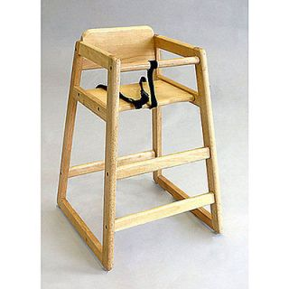Wooden Baby High Chair