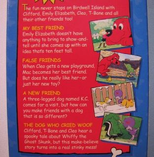 Scholastic Clifford The Big Red Dog Clifford's Best Friends VHS Video