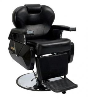 White Fashion Heavy Duty Hydraulic Recline Barber Chair Salon Beauty Shampoo 8W