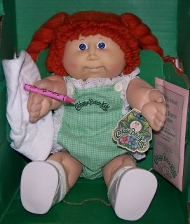 Cabbage Patch Doll Rona Prudence Red Hair 1984 Vintage
