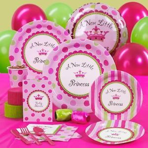 A New Little Princess Girl Baby Shower Party Supplies You Pick