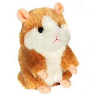 Funny Mimicry Pet Plush Talking Animal Swing Hamster Kids Child Play Plush Toy