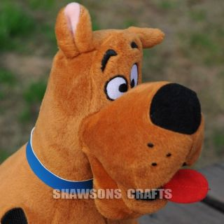 "Ty Toys Scooby Doo Plush Stuffed Toy 11"" Soft Dog"