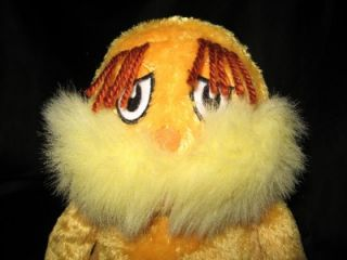 Kohls Cares Kids The Lorax Dr Seuss Plush Stuffed Toy Hard to Find Collect