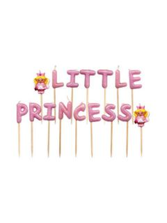 Lovely Chubblies Princess Birthday Party Candle Set