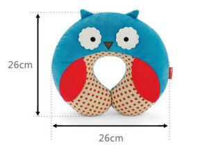 Baby Kid Children's Friendly Zoo Car Seat Travel Neck Rest Soft Plush Toy Pillow