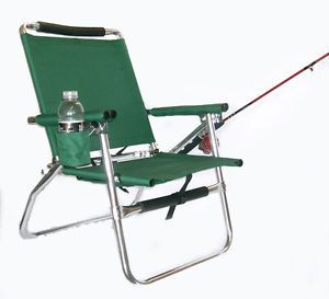 "Just Arrived The Original ""Fish Master"" Ultra Light Fishing Chair Hunter Green"