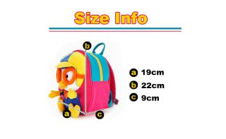 Pororo Safety Harness Backpack for Toddler Birthday Gift for Kids Baby Blue Pink