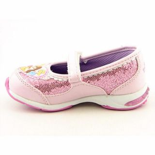 Disney Princess PRF402 Youth Kids Girls Sz 7 Pink Flats Mary Jane Flats Shoes