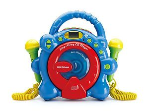 Sing Along CD Player Toys Educational Toddler Pre School Learning Music