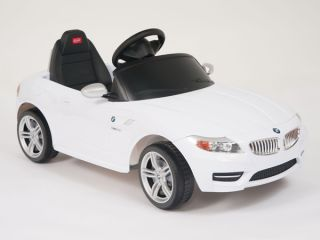 BMW Z4 Ride on Kids Battery Powered Wheels Car RC Remote Control White