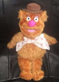 The Muppets Fozzie Bear Plush Toy Jim Henson R66