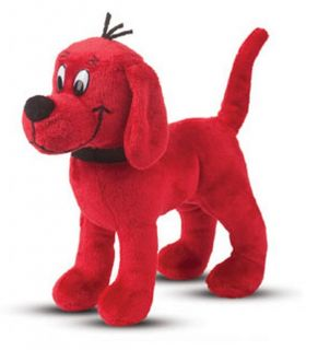 Douglas Cuddle Toys 7'' Standing Plush Clifford The Big Red Dog New