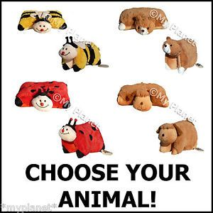 Pets Pillow Cushion Buddies Soft Plush Animal Teddy Kids Toy Pick Your Pet New