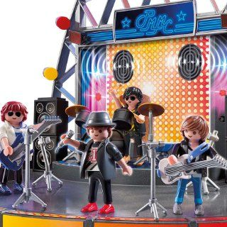 New Playmobil 5602 Pop Star Stage Role Playing Toys City Life Circus Western