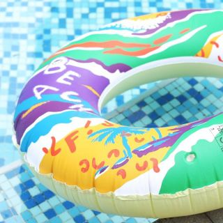 Summer Inflatable Swim Ring Tube Pool Float Ring Beach Fun Toy Hot Sale