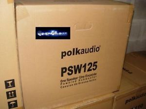 "Polk Audio PSW125 Powered Home Theater Surround 12"" inch New Subwoofer Sub"