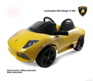 Licensed Lamborghini Murcielago LP640 Baby Kids Ride on Power Wheels Toy Car Y