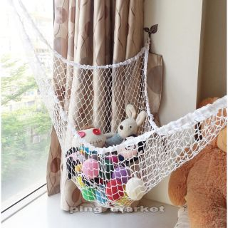 Baby Kids Jumbo Elastic Toy Hammock Net Stuffed Animals Organize Storage New US