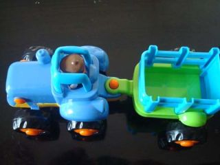 Baby Funny Amazing Truck Car Toy Inertia Car Lovely Tractor for Kids as Gift