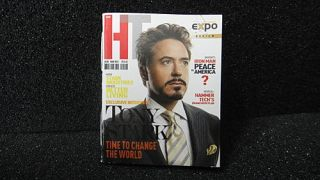 Hot Toys Iron Man 3 Tony Stark Workshop Armor Test Ver Magazine