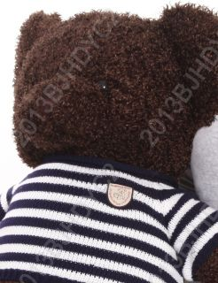 Hot Lovely Cute Giant 140cm Big Dark Brown Plush Teddy Bear Huge Soft Cotton Toy