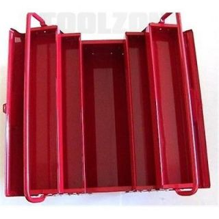 "New Heavy Duty 20"" Tool Storage Metal Cantilever Tool Box Tray 3 Tier Toolbox"