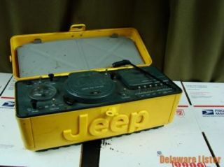 1995 Jeep 4x4 Outdoor Factory Dealer Portable Radio w CD Cass Tape Player