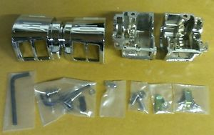 Harley Davidson Chrome Switch Housings Touring Sportster Dyna Softail Parts Lot