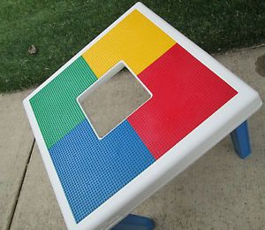 Table Toys Activity Table for Lego Mega Blocks Kid Children Plastic Toy Board