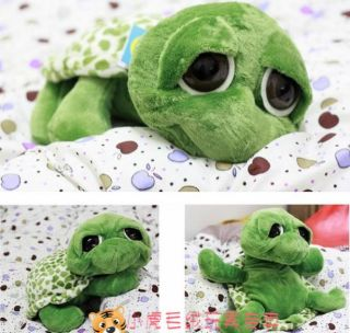 "12"" 30cm Handcraft Stuffed Animal Cute Plush Toy Doll with Big Eyes Turtle"